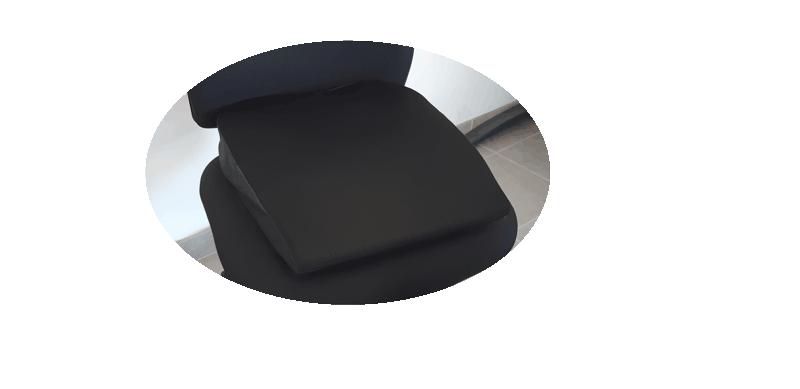 Coussin ergonomique pour clunéalgie