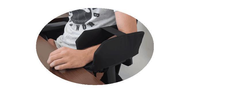 maintien bras à mobilité réduite ergofix