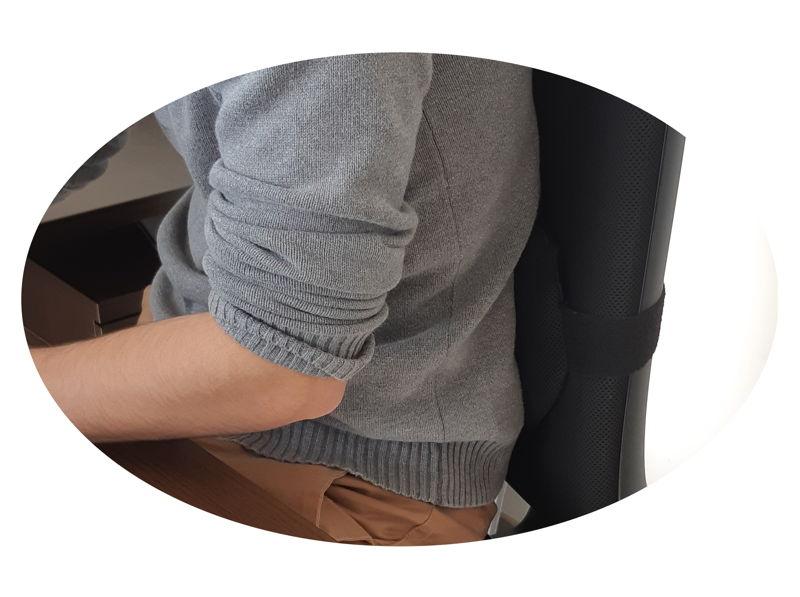 maintien lombaire pour fauteuil de bureau