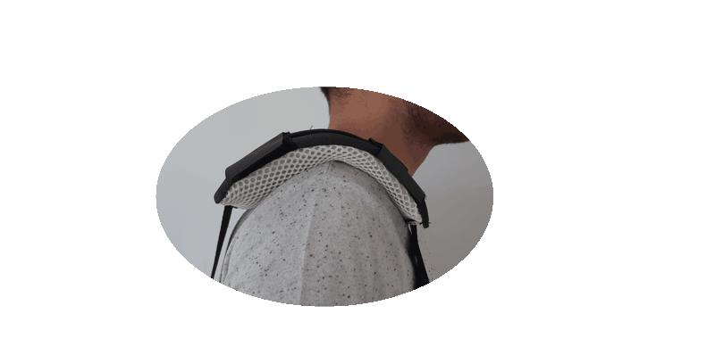 Ergoskoaz, protection d'épaule