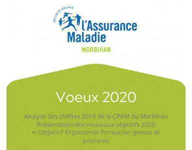 Voeux 2020 de la CPAM du Morbihan